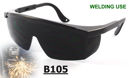 B105 SAFETY GLASSES IR5 FOR WELDING