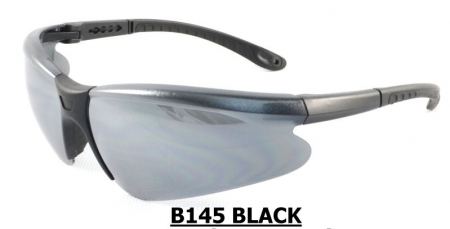 B145 Black Safety glasses