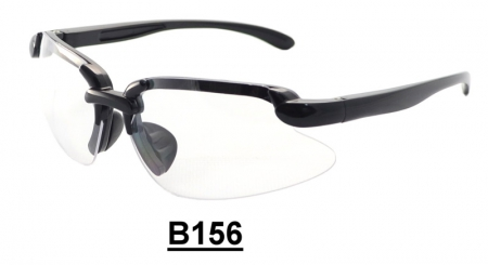 B156 Safety glasses with Spring hinge
