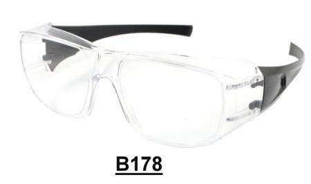 B178 Fit Over-Prescription Safety Glasses