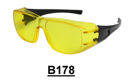 B178 Fit Over-Prescription Safety Glasses
