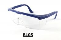 B105 Safety goggles certificate, Goggles Lab, óculos de proteção, Protection glasses