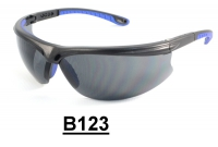 B123 Black+Blue lentes de seguridad