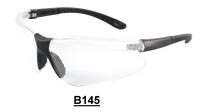 B145 Black Safety glasses