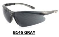 B145 Gray Safety glasses